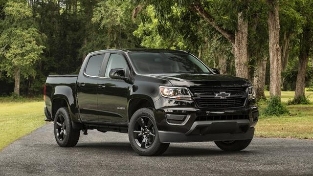 2018 Chevy Colorado Z72 Front View
