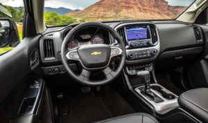 2018 Chevy Colorado Z72 Interior