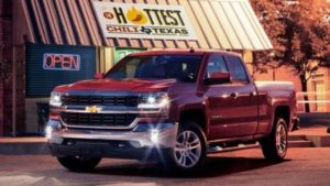 2018 Chevy Silverado Texas Edition