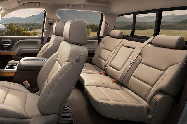 2018 Chevy Silverado Texas Edition Interior