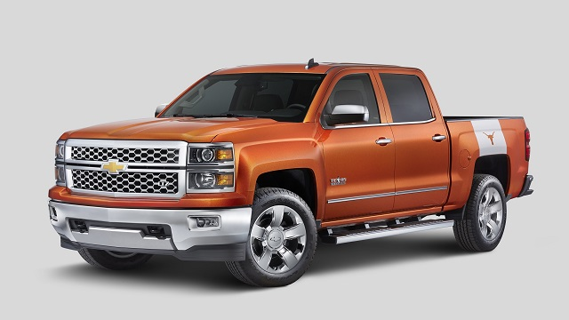2018 Chevy Silverado Texas Edition Side View