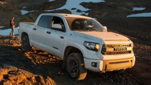 2018 Toyota Tundra TRD Pro Front View
