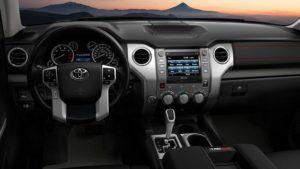 2018 Toyota Tundra TRD Pro Interior