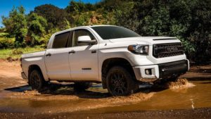 2018 Toyota Tundra TRD Pro Side View