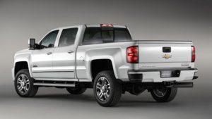2019 Chevrolet Silverado High Country Side View