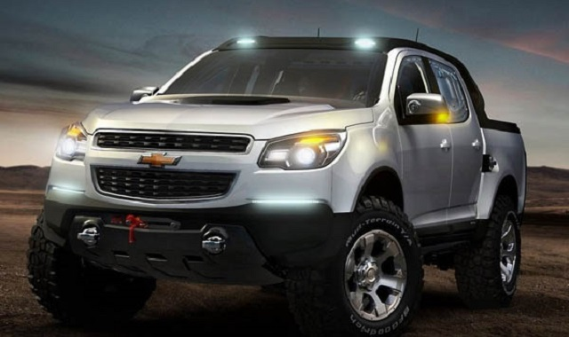 2019 Chevy Colorado Front View