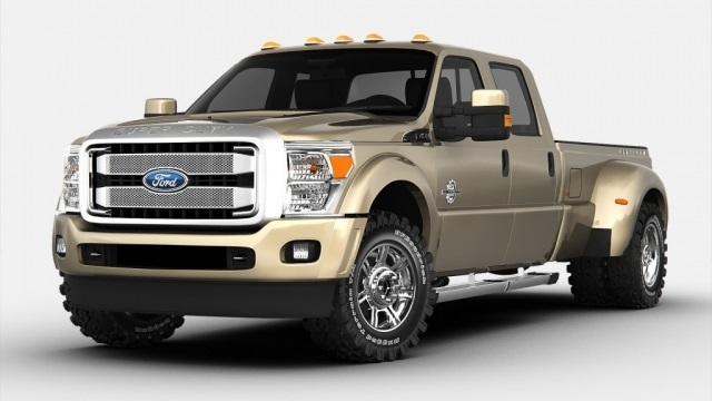 2019 Ford F-350 Front View