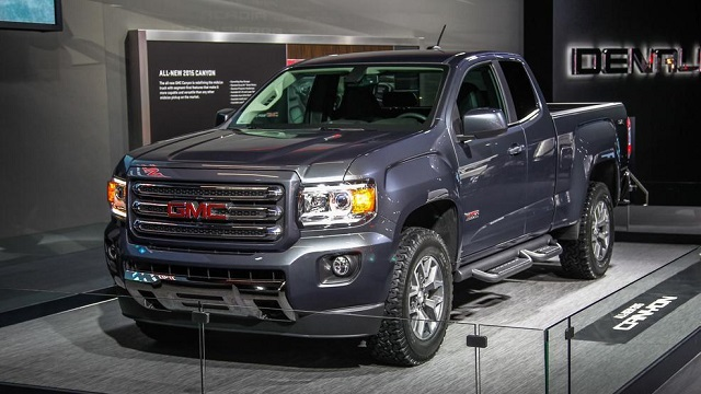 2019 GMC Canyon All-Terrain Front