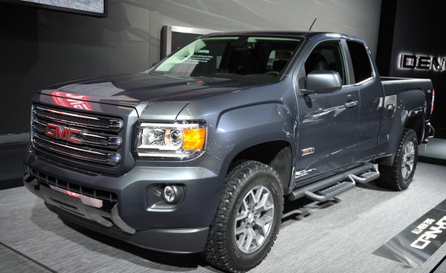 2019 GMC Canyon All-Terrain Side