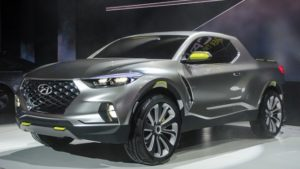 2019 Hyundai Santa Cruz Front View