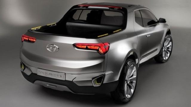 2019 Hyundai Santa Cruz Rear View