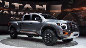 2019 Nissan Titan Side View