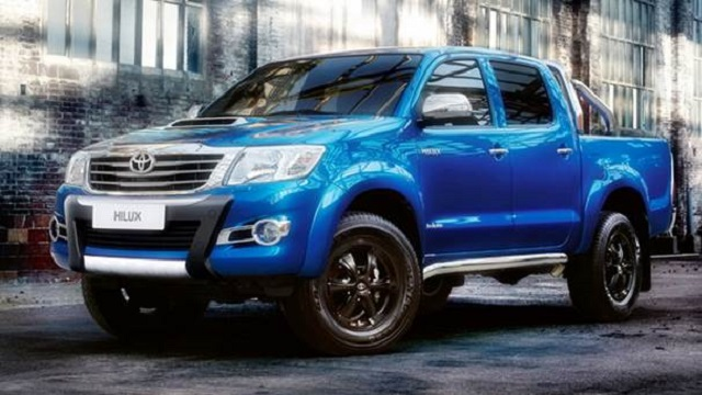 2019 Toyota Hilux Invincible X Side View