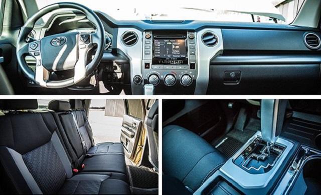 2019 Toyota Tundra CrewMax Cab Interior
