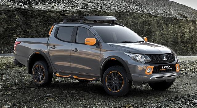 Mitsubishi L200 2019 Geoseek Concept