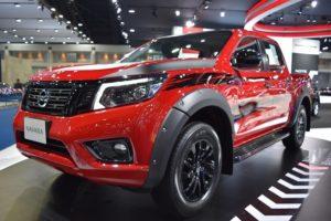 Nissan Navara 2019 Side View