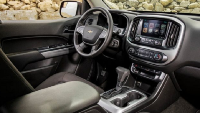 interior of 2019 Avalanche