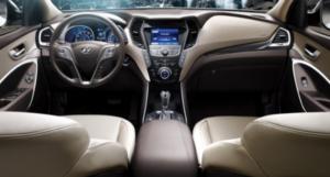 Interior of 2020 Hyundai pickup